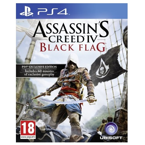 Assassins Creed IV 4 Black Flag PS4 Game