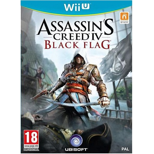 Assassins Creed IV 4 Black Flag Wii U Game