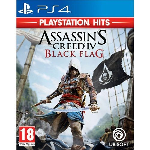 Assassins Creed IV Black Flag PlayStation Hits PS4 Game