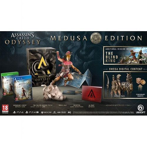 Assassins Creed Odyssey Medusa Edition PS4 Game
