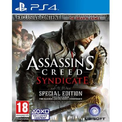 Assassins Creed Syndicate Special Edition PS4 Game