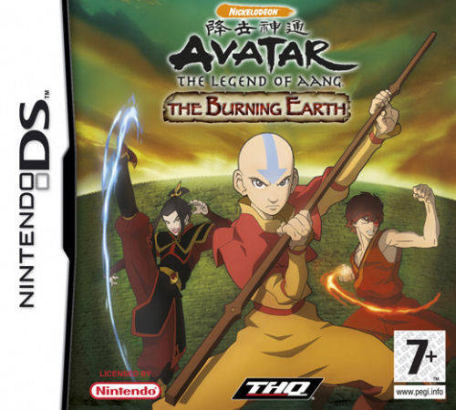Avatar The Burning Earth Nintendo DS Game