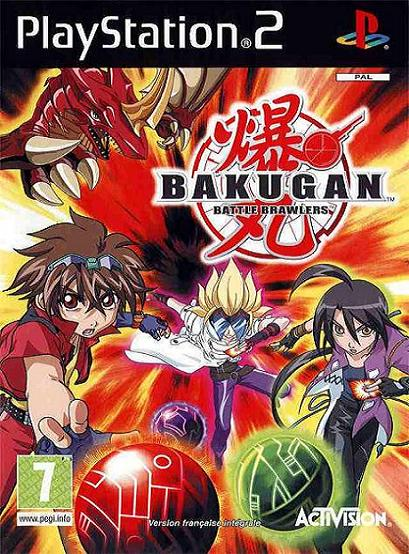 Bakugan Battle Brawler PS2 Game