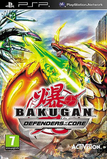 Bakugan Battle Brawlers Defenders of the Core [Essentials] PSP Game