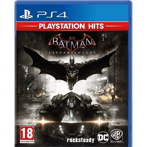 Batman Arkham Knight PlayStation Hits PS4 Game