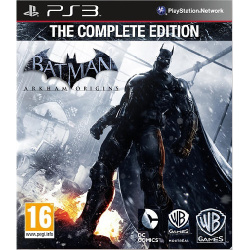 Batman Arkham Origins Complete Edition PS3 Game