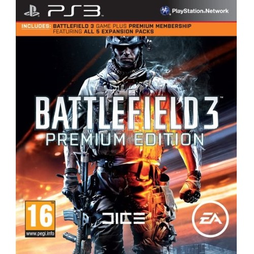 Battlefield 3 Premium Edition PS3 Game
