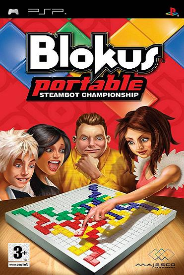 Blokus Prortable Steambot Champion PSP Game