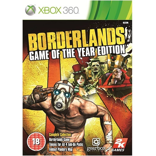 Borderlands Game Of The Year Edition Xbox 360 Game