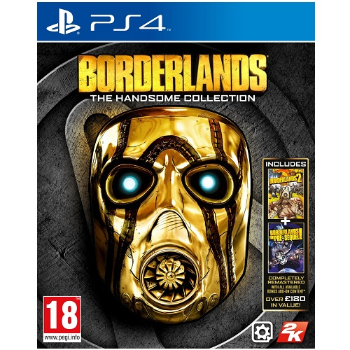 Borderlands The Handsome Collection PS4 Game