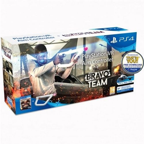 Bravo Team + Aim Controller Bundle [PSVR required] PS4 Game