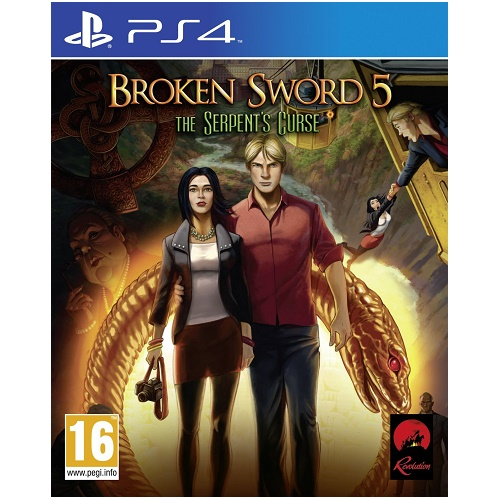 Broken Sword 5 The Serpents Curse PS4 Game