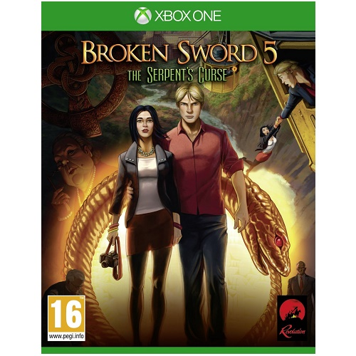 Broken Sword 5 The Serpents Curse Xbox One Game