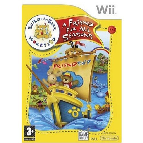 Build-A-Bear Workshop A Friend Fur All Seasons Nintendo Wii Game