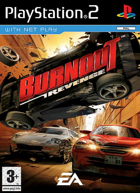 Burnout Revenge PS2 Game