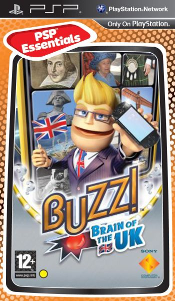 Buzz Brain of The UK PSP Game