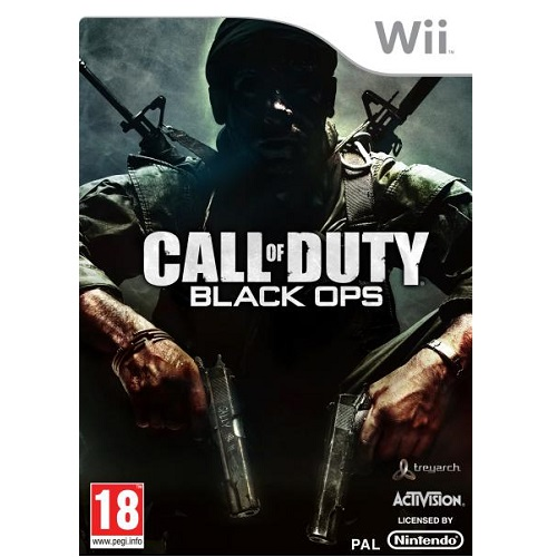 Call of Duty Black Ops Nintendo Wii Game