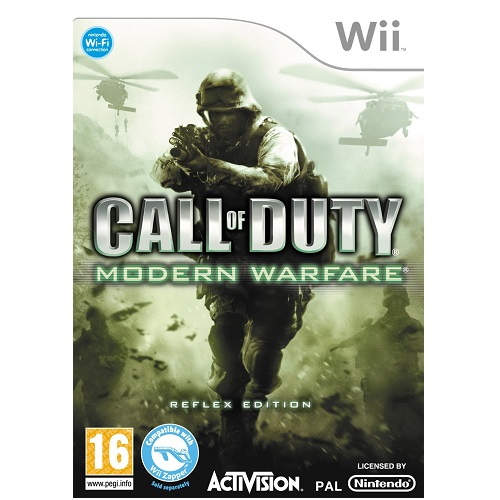 Call of Duty Modern Warfare Reflex Nintendo Wii Game