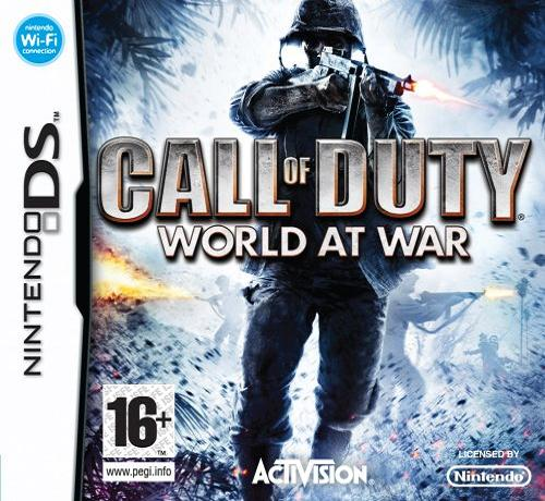 Call of Duty World at War Nintendo DS Game
