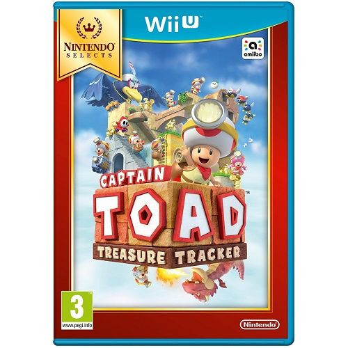 Captain Toad Treasure Tracker [Selects] Wii U Game