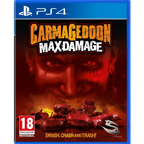 Carmageddon Max Damage PS4 Game