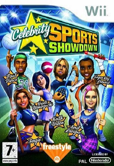 Celebrity Sports Showdown Nintendo Wii Game