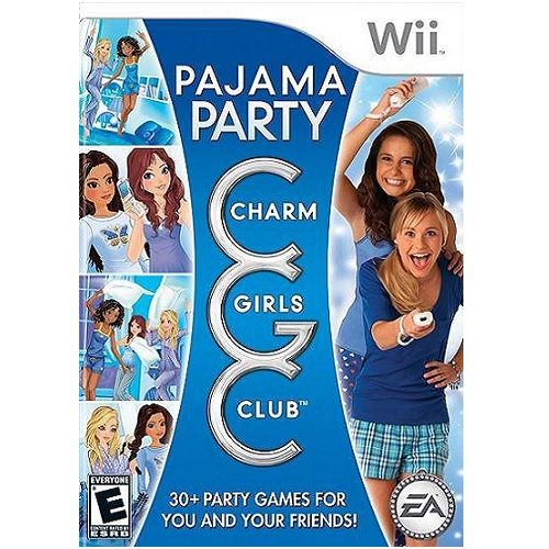 Charm Girls Club Pajama Party Nintendo Wii Game