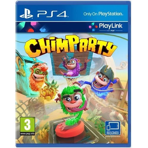 Chimparty [Playlink] PS4 Game