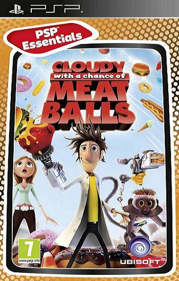 Cloudy with a Chance of Meatballs [Essentials] PSP Game