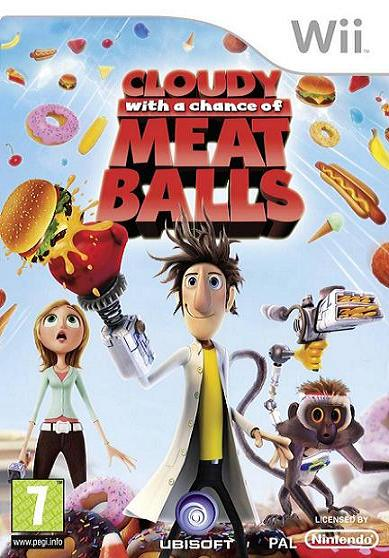 Cloudy with a Chance of Meatballs Nintendo Wii Game