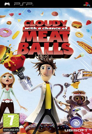 Cloudy with a Chance of Meatballs PSP Game
