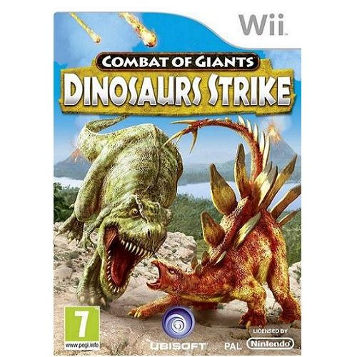 Combat of Giants Dinosaurs Strike Nintendo Wii Game