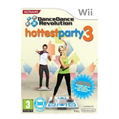 Dance Dance Revolution Hottest Party 3 Nintendo Wii Game