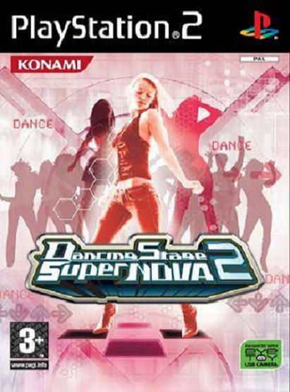 Dancing Stage SuperNOVA2 (Solus) PS2 Game