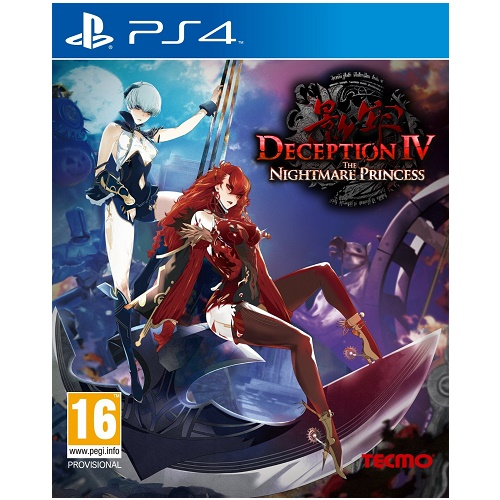 Deception IV 4 The Nightmare Princess PS4 Game
