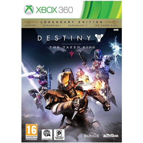 Destiny The Taken King Xbox 360 Game