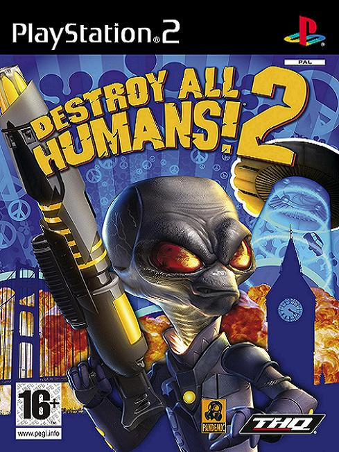Destroy All Humans! 2 PS2 Game