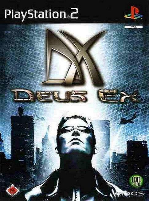 Deus Ex PS2 Game