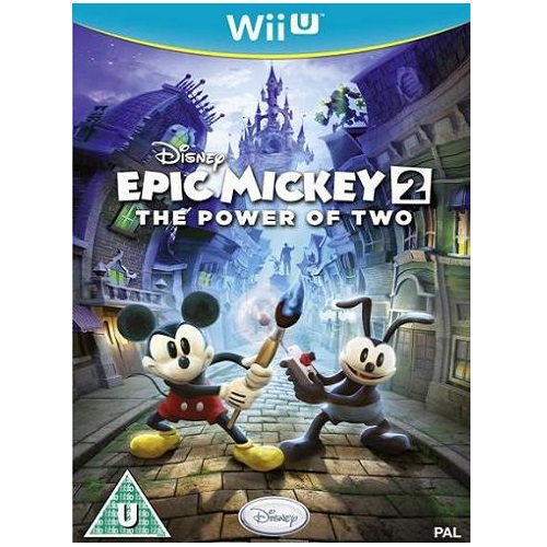 Disney Epic Mickey The Power Of 2 Wii U Game
