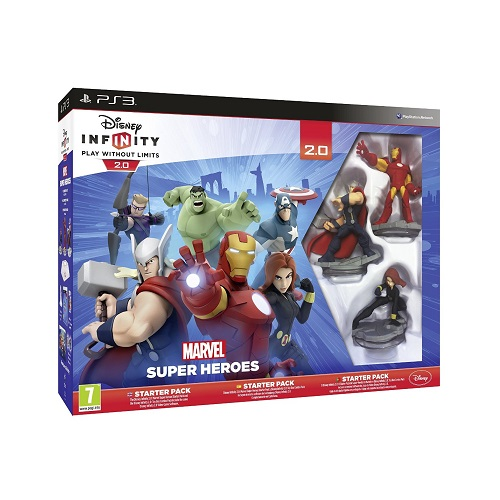 Disney Infinity 2.0 Marvel Superheroes Starter Pack PS3 Game