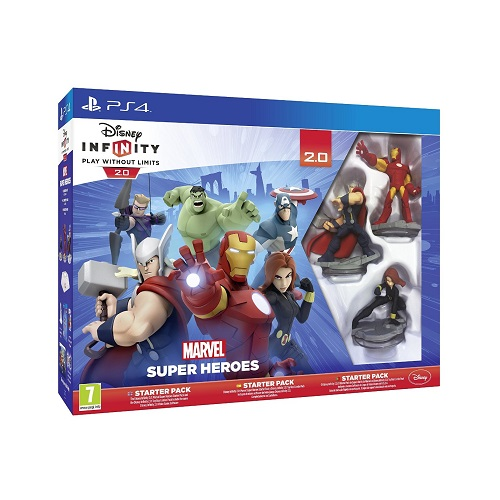 Disney Infinity 2.0 Marvel Superheroes Starter Pack PS4 Game
