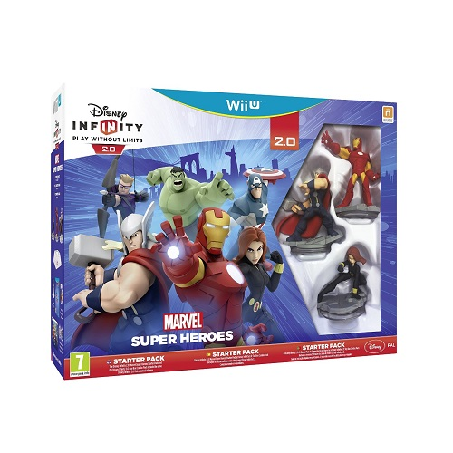 Disney Infinity 2.0 Marvel Superheroes Starter Pack Wii U Game