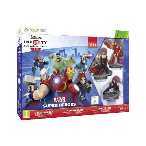 Disney Infinity 2.0 Marvel Superheroes Starter Pack Xbox 360 Game