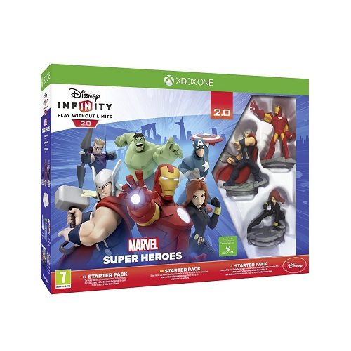 Disney Infinity 2.0 Marvel Superheroes Starter Pack Xbox One Game