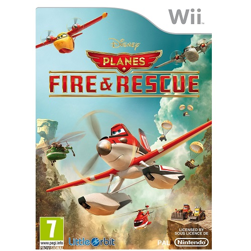 Disney Planes Fire and Rescue Nintendo Wii Game