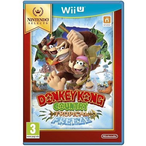 Donkey Kong Country Tropical Freeze [Selects] Wii U Game