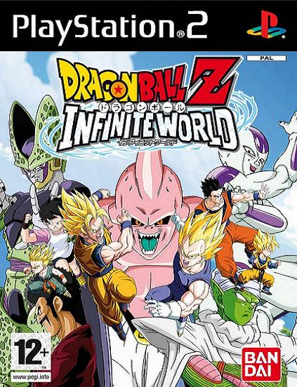 Dragon Ball Z Infinite World PS2 Game