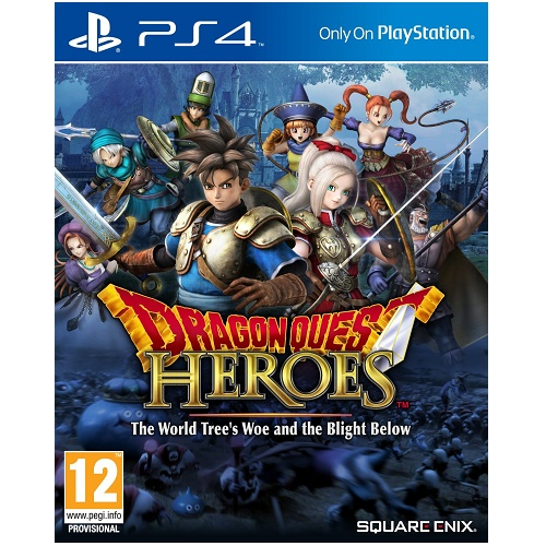 Dragon Quest Heroes PS4 Game