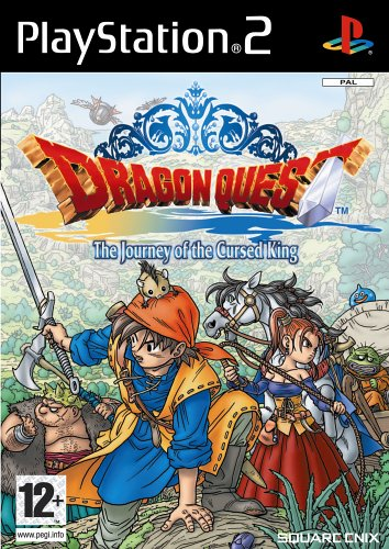 Dragon Quest The Journey of The Cursed King PS2 Game