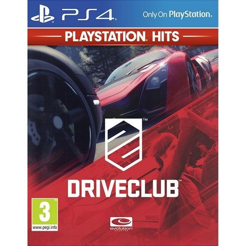 DriveClub PlayStation Hits PS4 Game